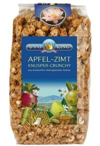 BIOKING Knusper Crunchy Apfel Zimt 375 g