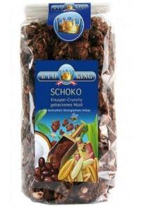 BIOKING Knusper Crunchy Schokolade Btl 375 g