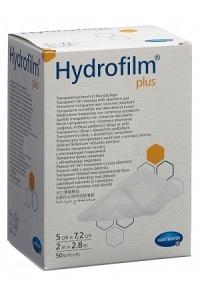 HYDROFILM PLUS wasserd Wundverb 5x7.2cm st 50 Stk