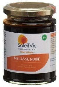 SOLEIL VIE Schwarze Melasse Rohrzucker Bio 340 g