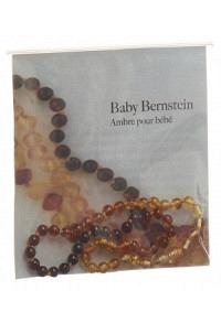 SELENAS Baby Bernsteinkette Kugeln fliessend abger