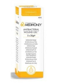 MEDIHONEY Antibacterial Wound Gel 395 5 Tb 20 g