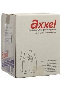 AXXEL Javel Flüssig 4.75 % Classic 4 Fl 1 lt