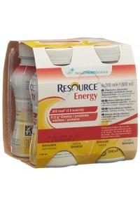 RESOURCE Energy Banane 4 Fl 200 ml