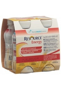 RESOURCE Energy Vanille 4 Fl 200 ml