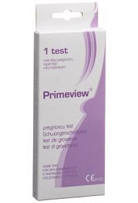 PRIMEVIEW hCG midstream pregnancy test mini