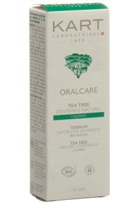 KART Zahnpaste Lehm Oralcare Teebaum 75 ml