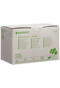 BARRIER OP Masken Basic grün Typ II Binden 50 Stk