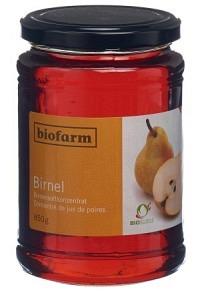 BIOFARM Birnel Knospe Glas 850 g