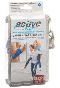 ACTIVECOLOR Daumen-Hand-Bandage M blau