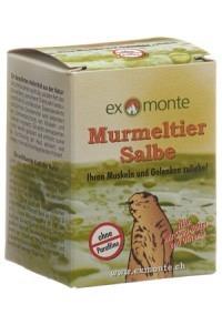 EXMONTE Murmeltier Salbe Topf 100 ml