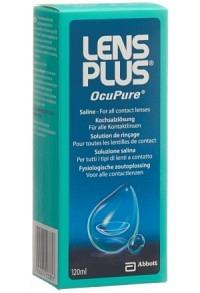 LENS PLUS Ocu Pure Kochsalzlösung Fl 120 ml