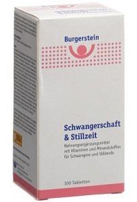 BURGERSTEIN Schwangerschaft&Stillzeit Tabl 100 Stk