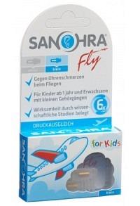 SANOHRA FLY Ohrenstöpsel Kinder 2 Stk