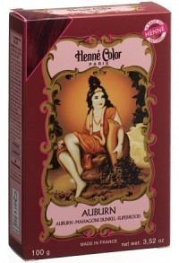 THIBAUT Henna Plv Mahagoni dunkel 100 g