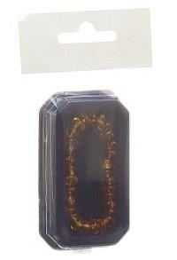 AMBERSTYLE Bernstein Armkette 13cm cognac