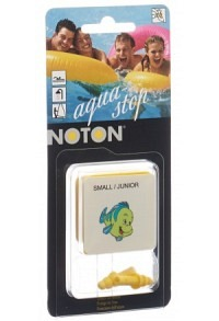 NOTON EAR Aqua Stop Junior Blist 1 Paar