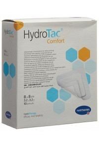 HYDROTAC Comfort Wundverband 8x8cm steril 10 Stk