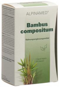 ALPINAMED Bambus compositum Kaps 120 Stk