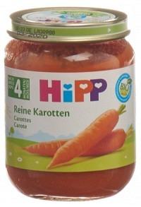 HIPP Reine Karotten Glas 125 g