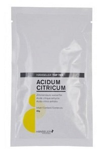 TOP TEN Acidum citricum in Sachets 20 x 40 g | Zitronensäure in Beutel 20*40g