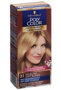 POLYCOLOR Creme Haarfarbe 31 hellblond