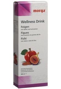 MORGA WELLNESS Drink Feigen 380 ml