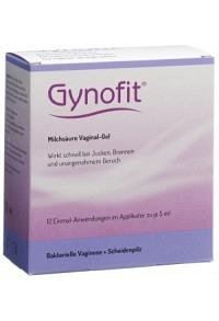 GYNOFIT Milchsäure-Gel Vaginalgel 12 x 5 ml