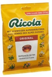RICOLA Kräuter Bonbons o Zucker Btl 125 g