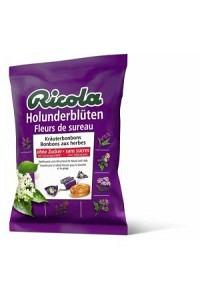 RICOLA Holunderblüten Bonbons oZ m Stevia 125 g
