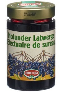 MORGA Konfitüre Holunder Latwerge 375 g