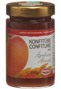 MORGA Konfitüre Aprikosen Fruchtz 350 g