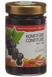 MORGA Konfitüre Cassismark Fruchtz 350 g