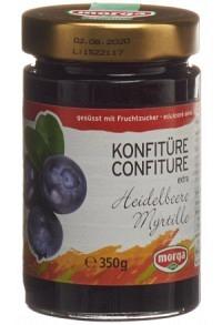 MORGA Konfitüre Heidelbeer Fruchtz 350 g