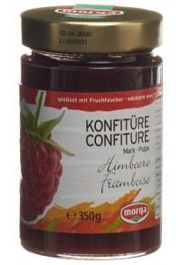 MORGA Konfitüre Himbeermark Fruchtz 350 g