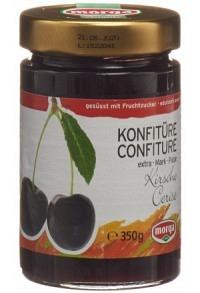 MORGA Konfitüre Kirschen schwarz Fruchtz 350 g