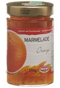 MORGA Konfitüre Orange Fruchtz 350 g