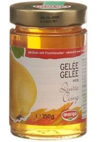 MORGA Konfitüre Quittengelée Fruchtz 350 g