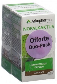 ARKOCAPS Nopalkaktus Kaps VG Duo 2 x 45 Stk
