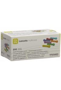 MYLIFE Lancets Einweglanzetten multicolor 200 Stk