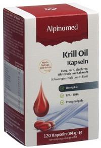 ALPINAMED Krill Oil Kaps 120 Stk