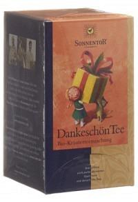 Sonnentor Chai Schwarzteekuss 20 Btl Früchtetee