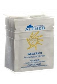 ALPMED Frischpflanzentüchlein Wegerich 13 Stk