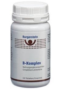 BURGERSTEIN B-Komplex Tabl 100 Stk