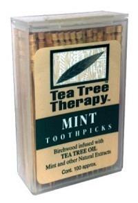 TEA TREE THERAPY Zahnstocher Tea Tree 100 Stk
