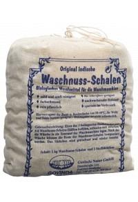 GOVINDA Waschnuss-Schalen mit Waschsäckchen 1 kg