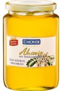 HOYER Akazienhonig m Frühjahrsblüten Bio Glas 1 kg