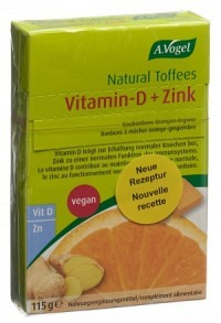 VOGEL Natural Energy Toffees Orange 115 g