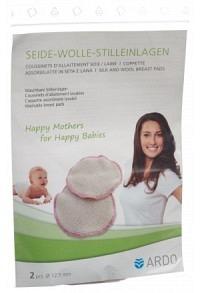 ARDO Stilleinlagen Seide/Wolle 1 Paar
