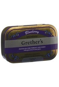 GRETHERS Blueberry Pastillen ohne Zucker 110 g